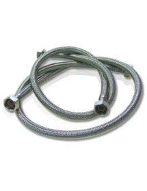 Flexible hoses of stainless steel mesh of H-H 1/2 ""