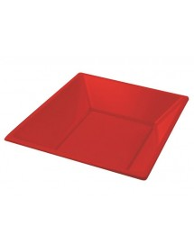 Red Deep plate 170mm PS (25 pcs)