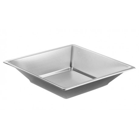 Silver Deep plate 170mm PS (25 pcs)