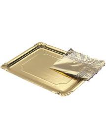 Bandeja de cartón rectangular 22x28cm (Pack 100 uds)