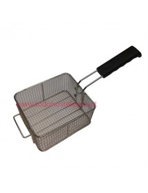 Basket with Handle Electric Fryer 200x200x100 mm