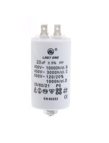 Condensador de arranque capacidad 20µF 450v FIS CBB60