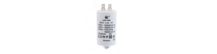 Starter capacitor