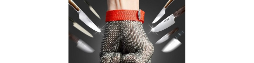 Protective elements (gloves and aprons)
