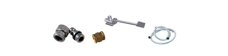 Accessories and spare parts for taps