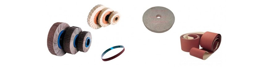 Disks and bands for sanding and polishing
