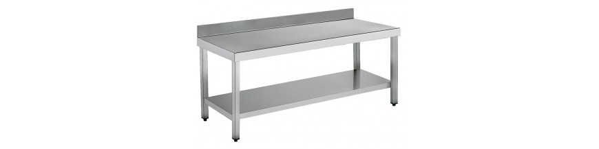Wall-side work table