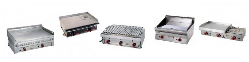 Plates, grills and Fry-Tops