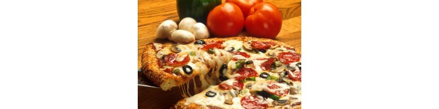 Equipment for pizzerias