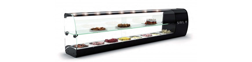 Cold showcases counter